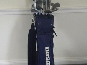Golf clubs, bag and golf shoes for sale  Cirencester